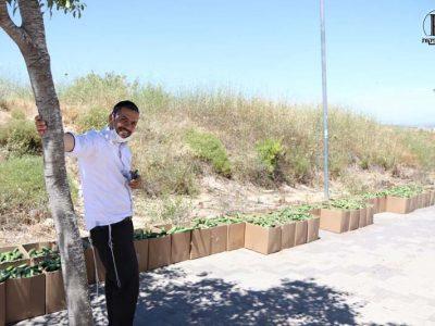 אחד המתנדבים באירגון ירא