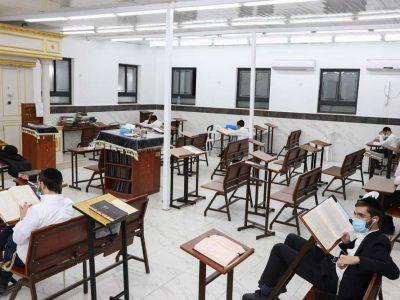 בית הכנסת בקומה הראשונה