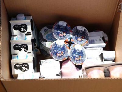 חלוקת מוצרי חלב