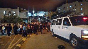 מספר אנשים נעצרו במהלך ההפגנה