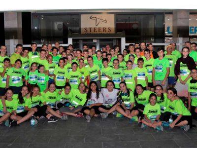בני נוער שהשתתפו במרוץ
