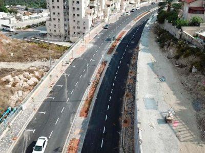 הכביש החדש בחפציבה