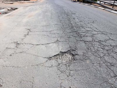 הכביש ברחוב הדקל גם צריך לעבור ריבוד