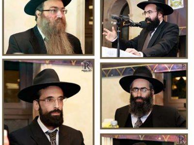 הרבנים שהשתתפו במעמד