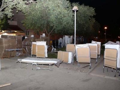 מיטות, כסאות ושולחנות ברבי יהודה הנשיא