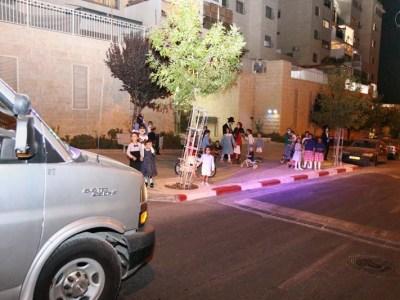 ניידת השמחה ברחוב חבקוק הנביא