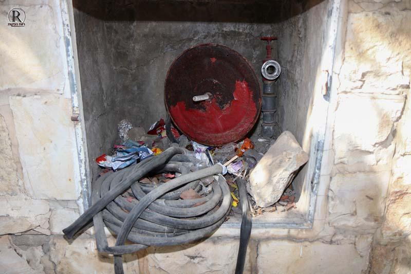 צינור מכבי אש שיצא מהסד''כ