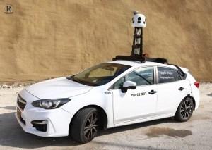רכב הצילום אפל מפות